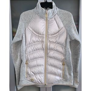 Michael Kors Quilted Knit Active Jacket